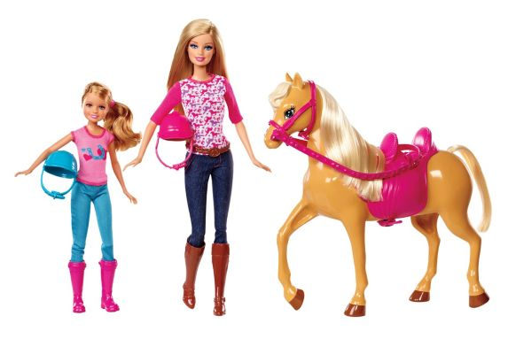 Barbie Doll Horse Riding Lesson Set Product image