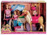 Barbie Doll Horse Riding Lesson Set | Barbienull
