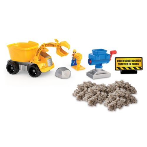 Kinetic Sand Rock Crusher