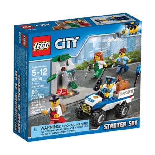 Lego City Police Starter Set, 80-pc