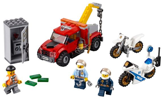 LEGO® City Tow Truck Trouble, 144-pc