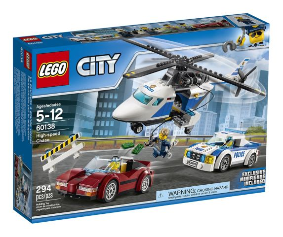 LEGO® City High-speed Chase, 294-pc Product image