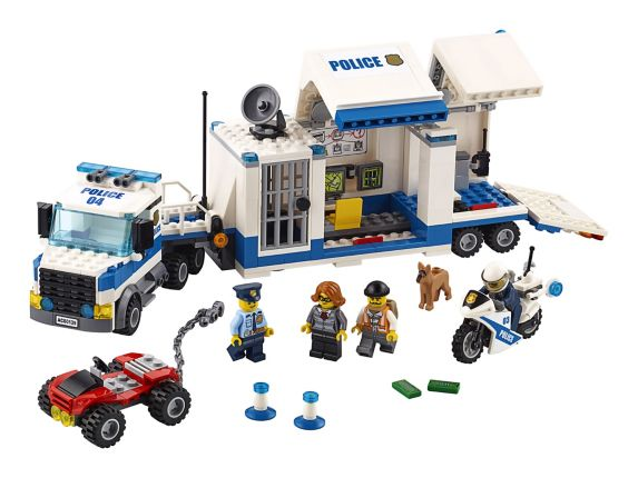 LEGO® City Mobile Command Center, 374-pc Product image