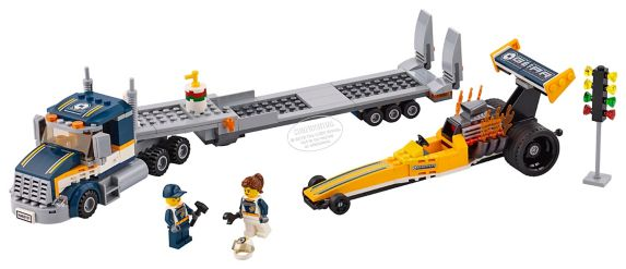 Lego City Dragster Transporter, 333-pcs Product image