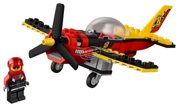 Lego City Race Plane, 89-pcs Product image