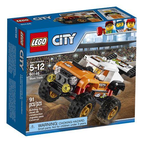 Lego City Stunt Truck, 91-pc
