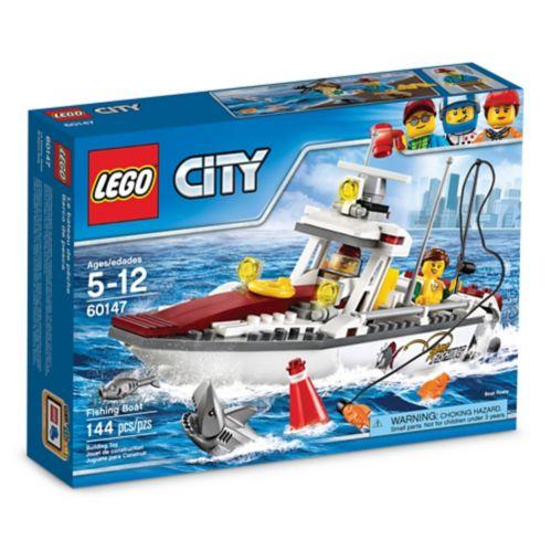 LEGO City, Le bateau de pêche, 144 pièces Image de l'article