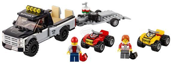 LEGO City L'équipe de course tout-terrain, 239 pièces Image de l'article