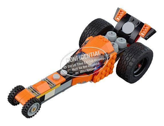 LEGO Creator La moto orange, 194 pièces Image de l'article