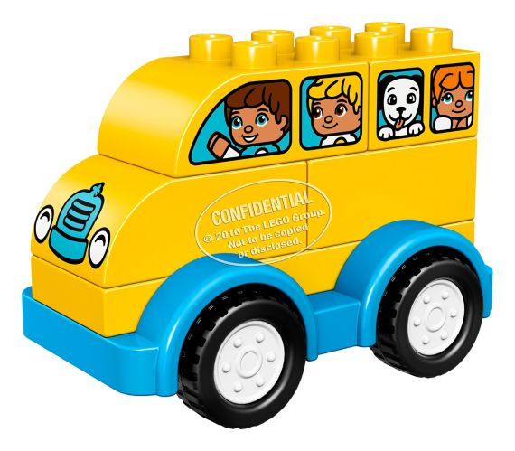Lego Duplo School Bus, 6-pcs