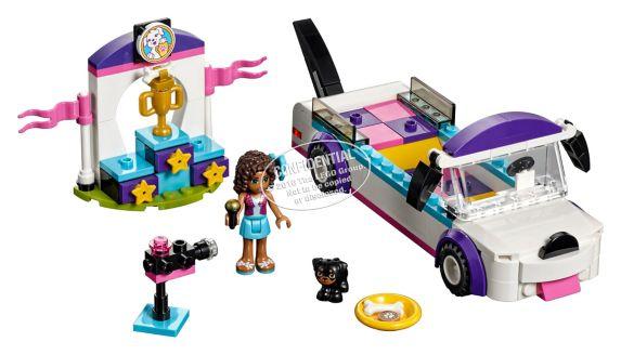 LEGO Friends Le défilé du chiot, 145 pièces Image de l'article