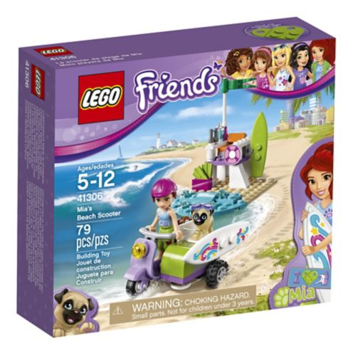 LEGO Friends Le scooter de plage de Mia, 79 pièces
