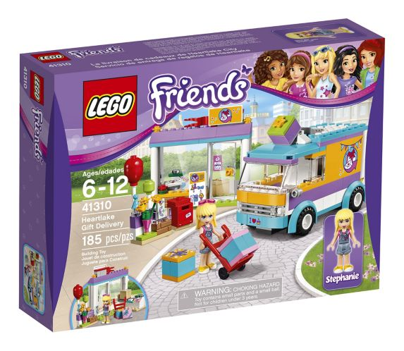 Lego Friends Delivery Van, 185-pcs Product image
