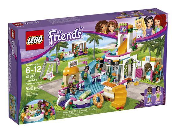 LEGO Friends La piscine de Heartlake City, 589 pièces Image de l'article
