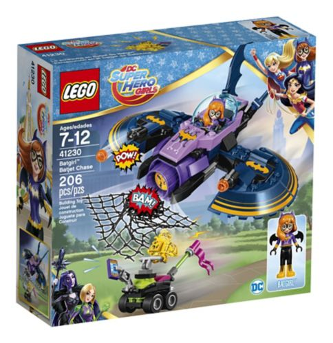 Lego DC Super Hero Girls Batgirl Batjet Chase, 206-pcs