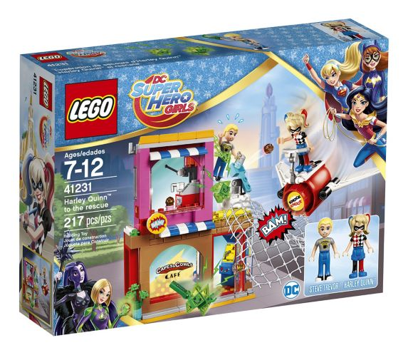 LEGO DC Super Hero Girls L'opération de secours d'Harley Quinn, 217 pièces Image de l'article