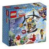 LEGO DC Super Hero Girls L'hélicoptère de Bumblebee,142 pièces | Legonull