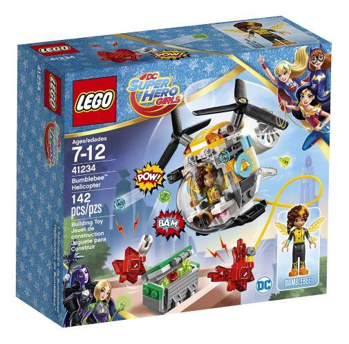 LEGO DC Super Hero Girls L'hélicoptère de Bumblebee,142 pièces Image de l'article