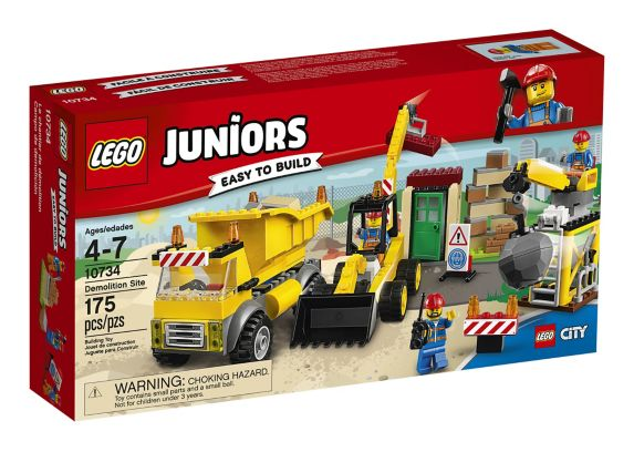 Lego Juniors Demolition Site, 175-pcs Product image