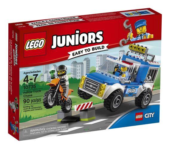 Lego Juniors Police Truck Chase, 90-pcs Product image