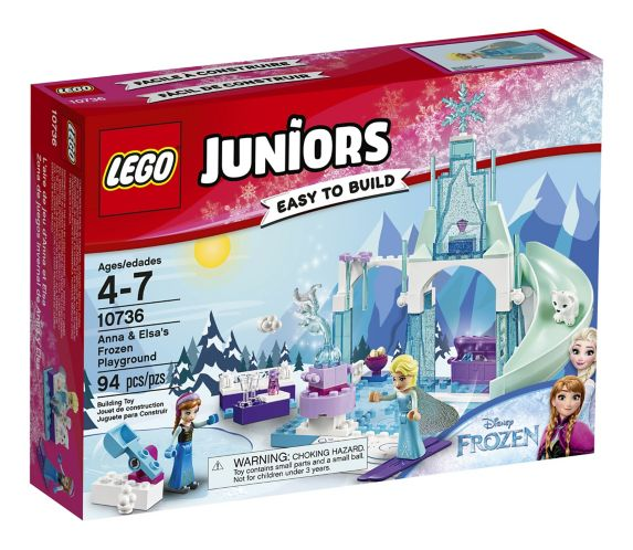 Lego Juniors Anna and Elsa's Frozen Playground, 94-pcs
