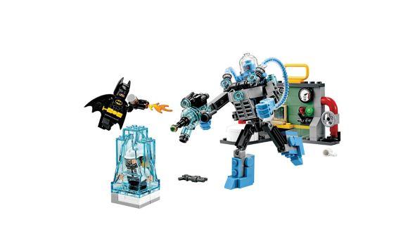 Lego The Batman Movie Mr. Freeze Ice Attack, 201-pc