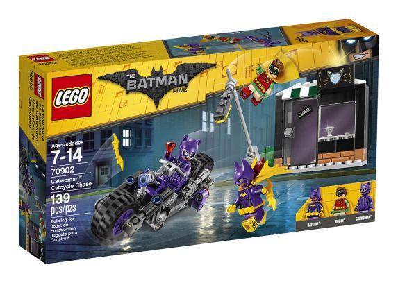 Poursuite en catmoto de Catwoman FILM LEGO BATMAN, 139 pièces Image de l'article