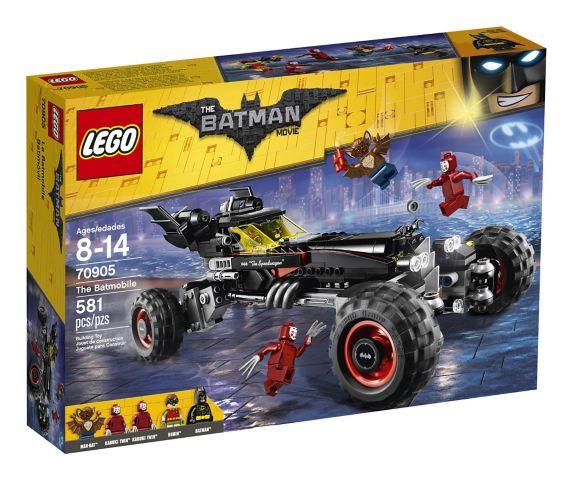 LEGO® The Batman Movie Batmobile, 581-pcs