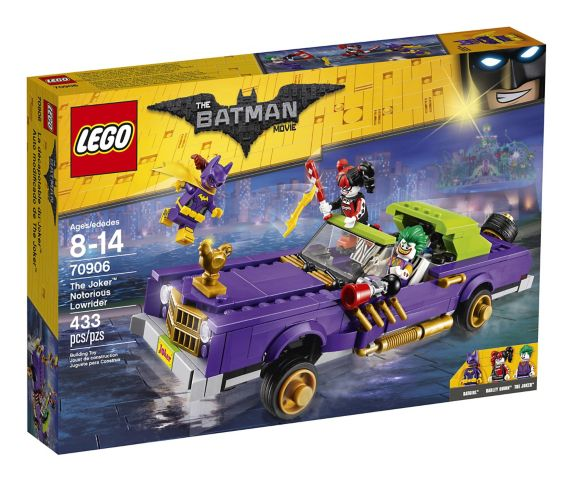 LEGO® The Batman Movie The Joker Notorious Lowrider, 433-pcs