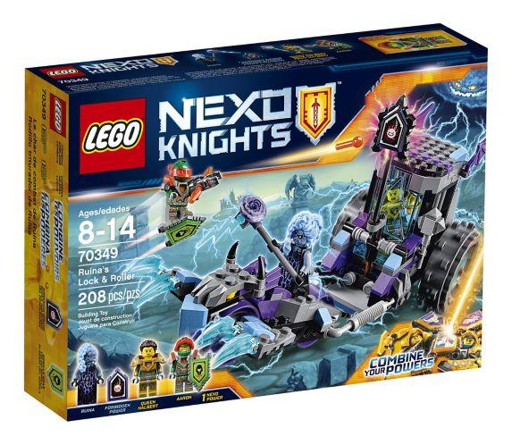Lego Nexo Knights Ruina's Lock and Roller, 208-pcs