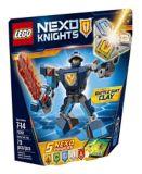 LEGO Nexo Knights Clay en armure de combat, 79 pièces | Legonull