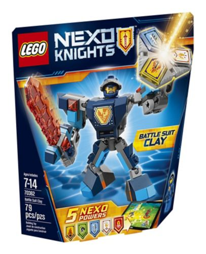 Lego Nexo Knights Battle Suit Clay, 79-pcs