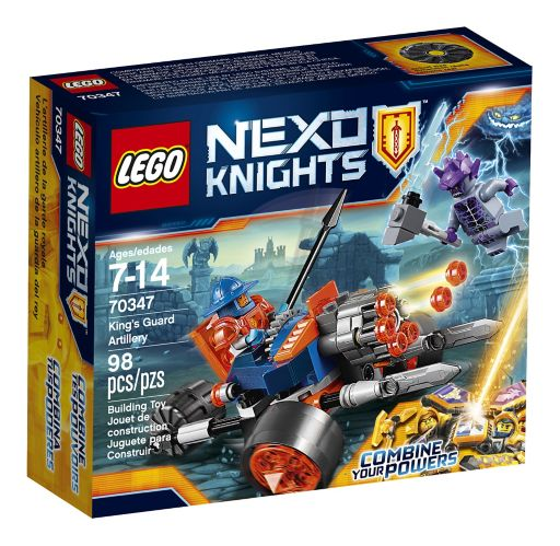 Lego Nexo Knights King's Guard Artillery, 98-pcs Product image