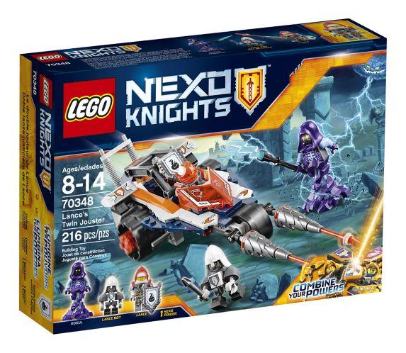 Lego Nexo Knights Lance's Twin Jouster, 216-pcs