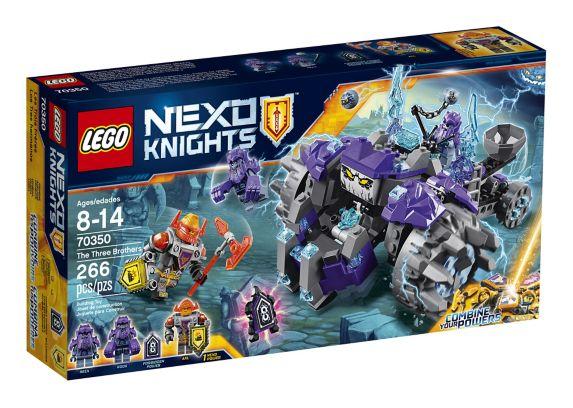Lego Nexo Knight's The Three Brothers, 266-pcs Product image