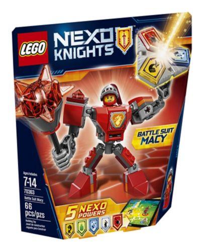 LEGO Nexo Knights Macy en armure de combat, 66 pièces