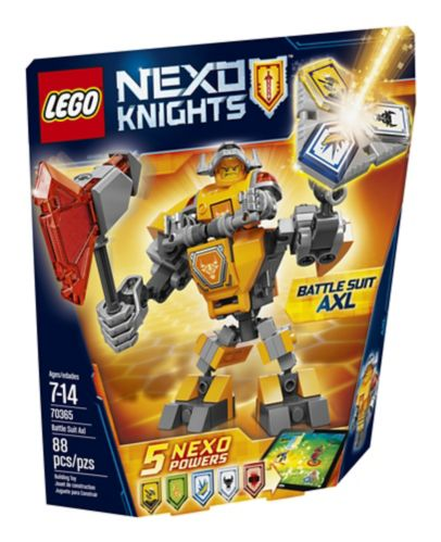 Lego Nexo Knights Battle Suit Axl, 88-pcs Product image
