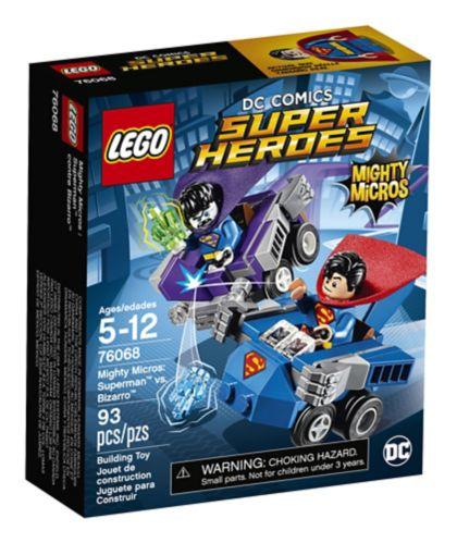 Lego Super Heroes Superman vs Bizarro, 93-pcs