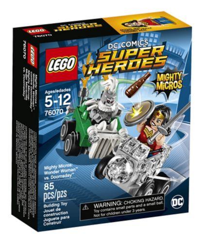 Lego Super Heroes Wonder Woman vs Doomsday, 85-pcs Product image