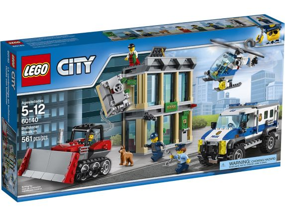 LEGO City Le cambriolage de la banque, 561 pièces Image de l'article