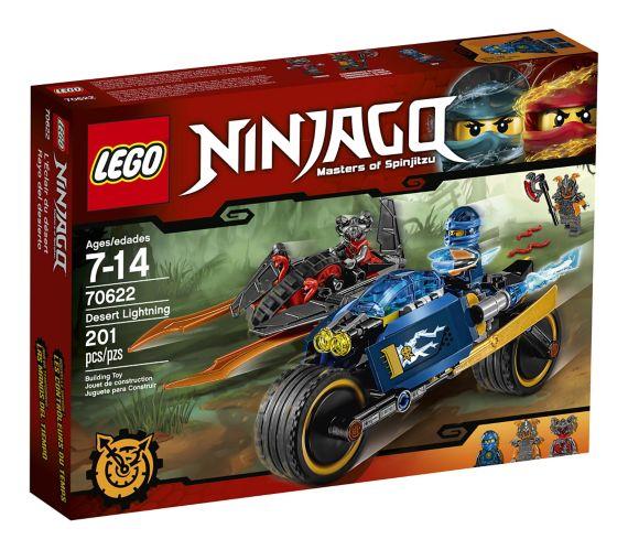 LEGO Ninjago L'Éclair du désert, 201 pièces