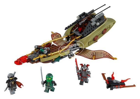 Lego Ninjago Destiny's Shadow, 360-pcs Product image