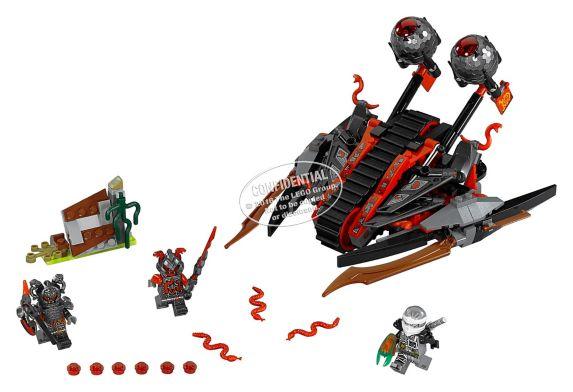 LEGO Ninjago L'Envahisseur Vermillion, 313 pièces Image de l'article