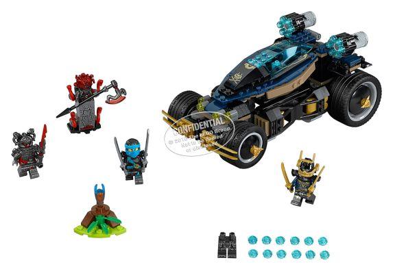 LEGO Ninjago Le Samouraï VXL, 428 pièces