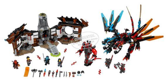 Lego Ninjago Dragon's Forge, 1137-pcs Product image