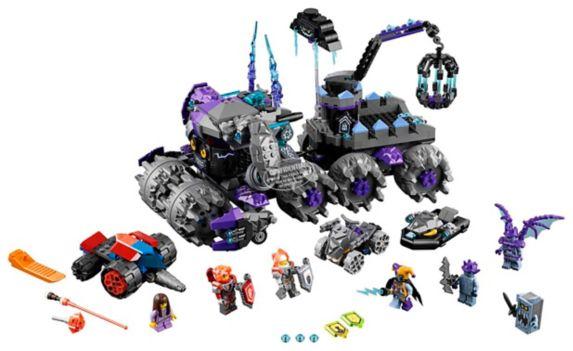 LEGO Ninjago La tête d'assaut de Jestro, 840 pièces