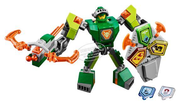 LEGO Nexo Knights Aaron en armure de combat, 80 pièces Image de l'article