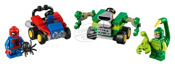Lego Super Heroes Mighty Micros: Spider-Man vs. Scorpion, 79-pcs Product image