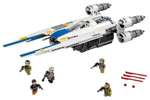 Chasseur Lego Star Wars Rebel U-Wing, 659 pces