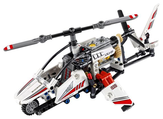 Lego Technic Ultralight Helicopter, 199-pcs